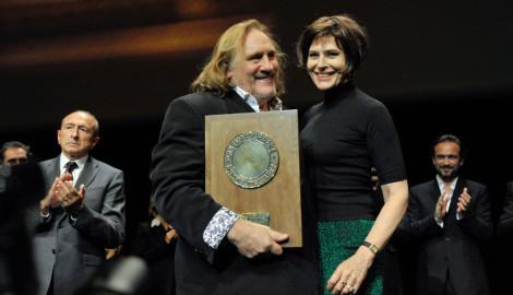 Festival Lumière 2011 | Remise du Prix Lumière 2011 à Gérard Depardieu