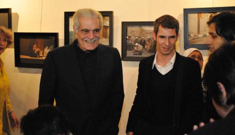 Théâtres au Cinéma 2010   Omar Sharif et Vincent Godard de Cousu Main