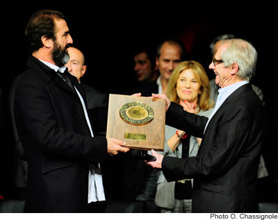 Remise du Prix Lumière à Ken Loach   Festival Lumière 2012