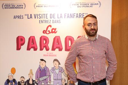 Éric Vicente, distributeur chez Sophie Dulac | Journée Prix Lux à Paris