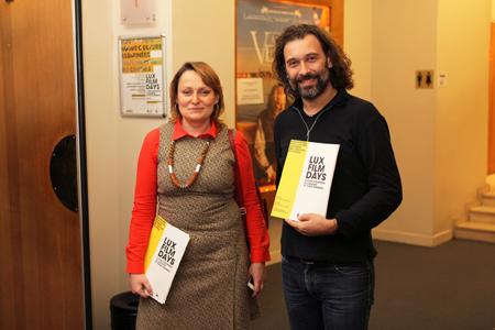 Katarzyna Iskra et Franck Boyer, Bureau d'information en France du Parlement européen  | Journée Prix Lux à Paris