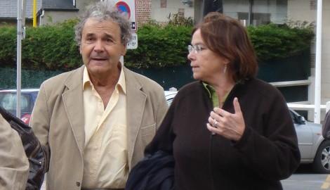 Festival Petits Bobines 2009 | Pierre Perret, parrain du festival, et Véronique Mortaigne