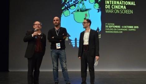 War on Screen 2015  : les programmateurs Olivier Broche, Hervé Bougon, Philippe Bachman